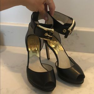 Michael Kors ankle strap heels